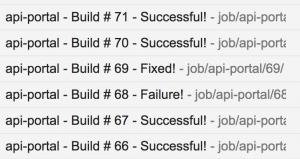 時賦科技 - Auto Build Email 通知