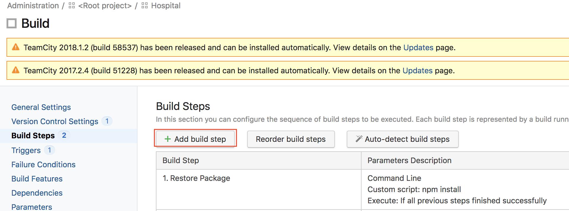 C# Web Angular 6 ]使用TeamCity 實現Auto Deployment ~ 進階篇